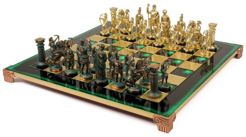 Шахматы оригинальные подарочные Античные войны MP-S-10-A-44-G