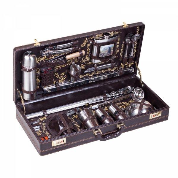 Подарочный набор для пикника «Бивак» (6 персон) Аксо 141ИИ6-П