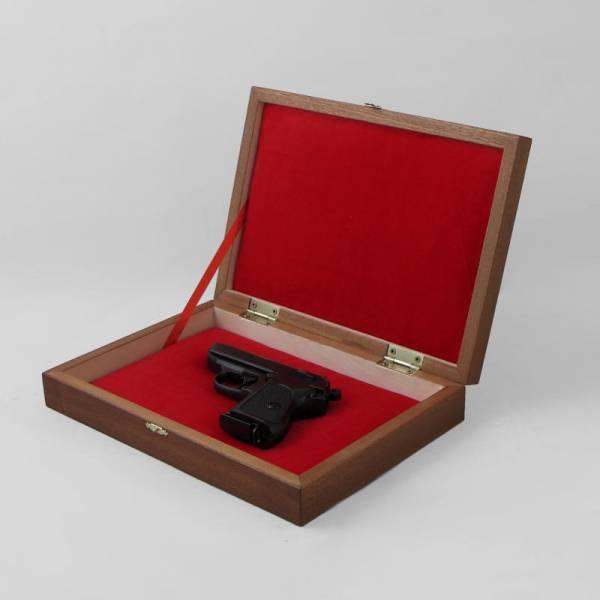 Коробка подарочная для пистолета Вальтер РРК Дарек Ц_1277