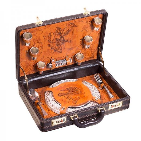 Подарочный набор для пикника «Сокол» (6 персон) Аксо 137КИ6