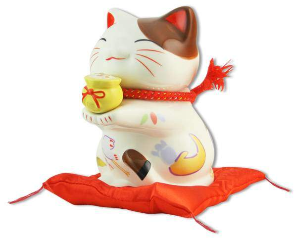 "Японский кот-копилка Манеки-неко ""Богатство и Успех!"" Pak Lee YC-10524-A"