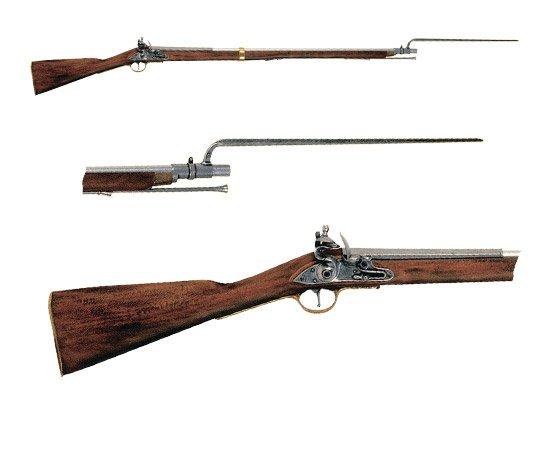 Ружье со штыком, Испания-Англия, XVIII век Denix DE-1054