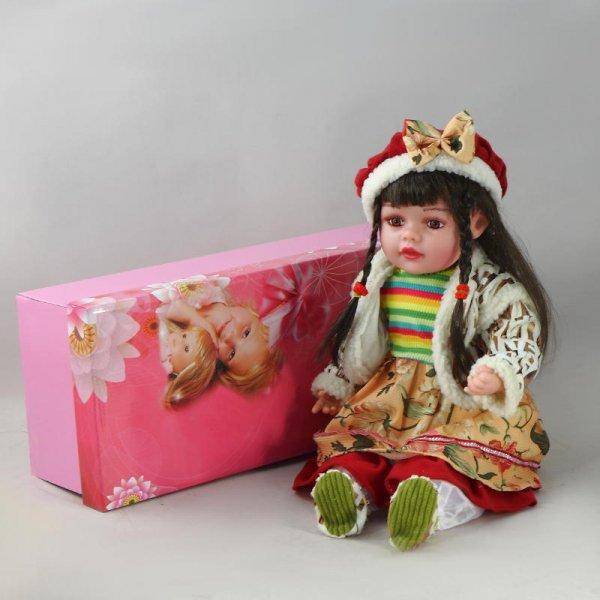 """Кукла декоративная виниловая """"Стильная"""" Prodoll PD-VD-22435"""