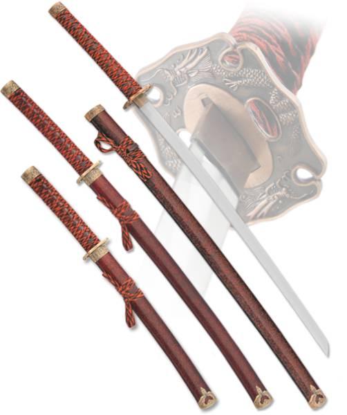 """Набор самурайских мечей """"Kenshin"""" Armas del Mundo D-50021"""
