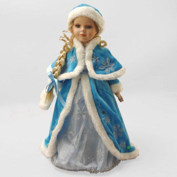 """""""Снегурочка"""", кукла фарфоровая 16"""" Polly Dolls YF-16561-B"""