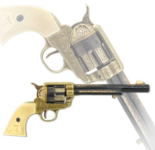 Револьвер, США, 1873 г., латунь Denix DE-B-1281-L