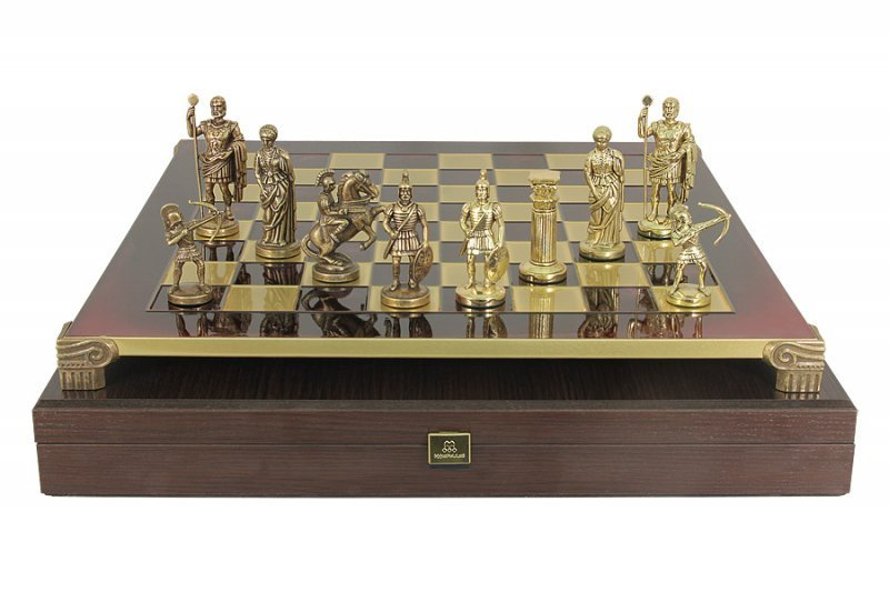 "Шахматы необычные подарочные ""Античные войны"" MP-S-15-C-28-R"