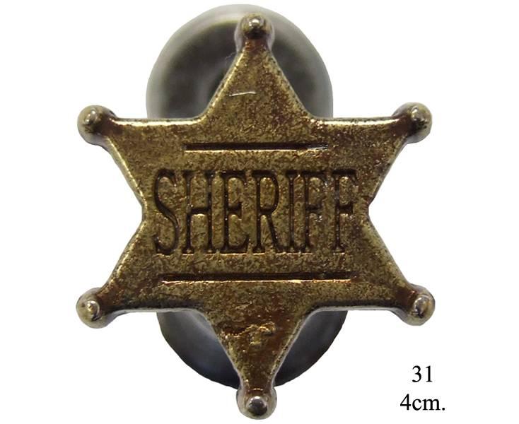 """Крепление декоративное (пара) """"Шериф"""" Denix DE-31"""