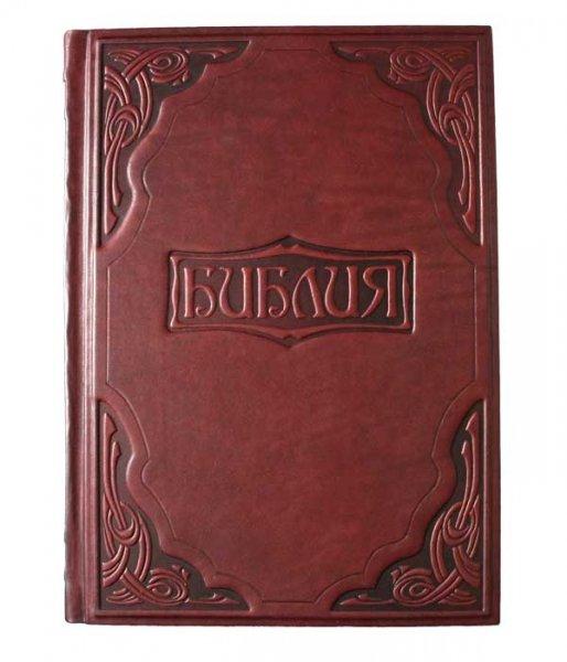 """Книга """"Библия в гравюрах Гюставе Доре"""" подарочное издание в кожаном переплете livegifts 001"""