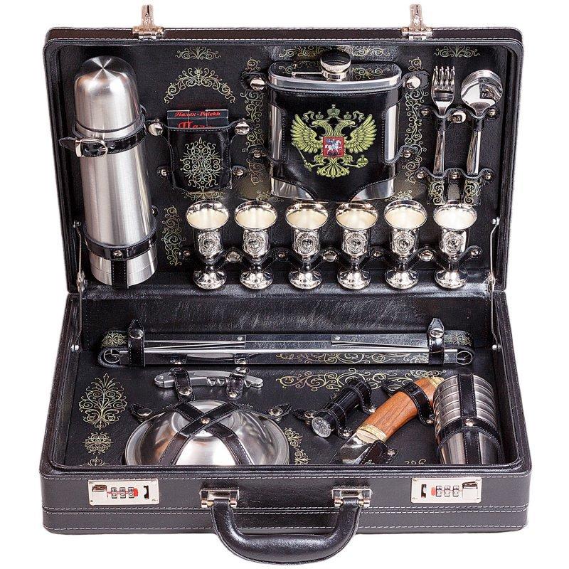 Подарочный набор для пикника «Консул» (6 персон) Аксо 148ИИ6-П-РФ